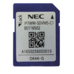 NEC BE116502 memory card 1 GB SD