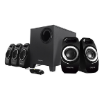 Creative Labs Inspire T6300 2.1channels Black speaker set
