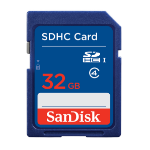 Sandisk SDSDB-032G-B35 memory card 32 GB SDHC