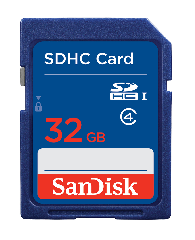 Sandisk SDSDB-032G-B35 memoria flash 32 GB SDHC