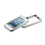 Cooler Master Aluminum Bumper mobile phone case Silver