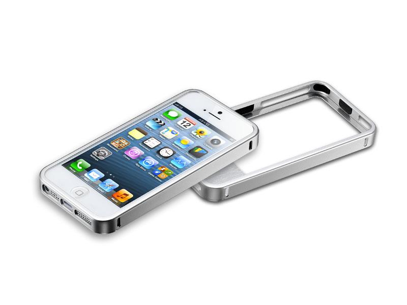 iPhone 5 Aluminum Bumper Silver