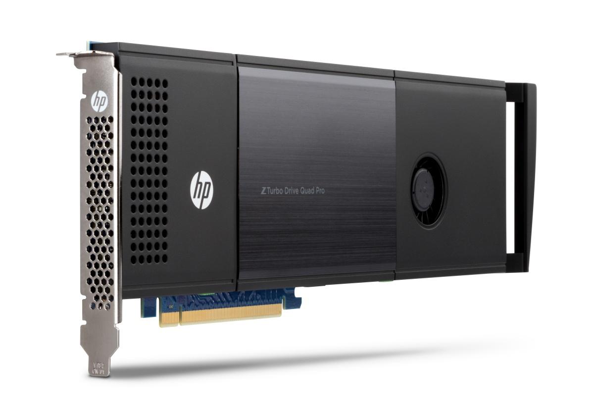 HP Z Turbo Drive Quad Pro 2x512GB PCIe SSD 1024GB