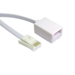 SmartTeck BT (M) to BT (F) 10m White OEM Extension Cable