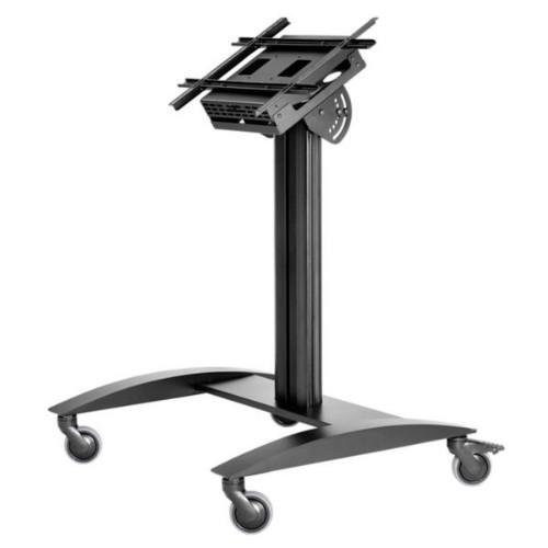 "Peerless SmartMount Portable flat panel floor stand Black 190.5 cm (75"")"
