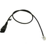 Jabra 8800-00-88 telephone cable 0.5 m Black