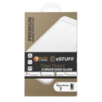 eSTUFF ES10083-3D-WHITE iPhone 7 Clear screen protector 1pc(s) screen protector