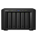 Synology DX517 5TB 5x1TB Seagate IronWolf 5 Bay NAS Expansion Unit disk array Desktop Black