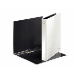 Leitz WOW Ring binder - pearl white White ring binder