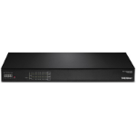 Trendnet TPE-3026L network switch Gigabit Ethernet (10/100/1000) Black 1U Power over Ethernet (PoE)