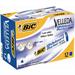 BIC Whiteboard Velleda ECOlutions 1701 Blue 12pc(s) marker