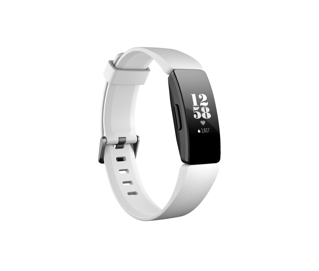 Fitbit Inspire HR Wristband activity tracker Black,White OLED