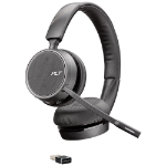 POLY Voyager 4220 UC Headset Head-band Bluetooth Black
