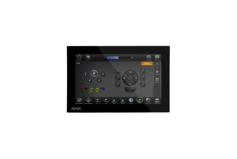 "AMX MXD-700 7"" 1024 x 600pixels Multi-user Black touch screen monitor"