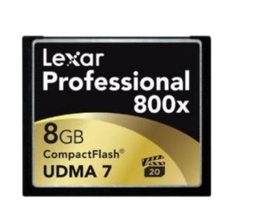 Lexar CF, 8GB 8GB CompactFlash memory card