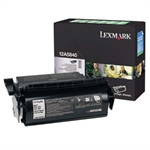 Lexmark 12A5840 Toner black, 10K pages