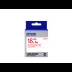 Epson Label Cartridge Standard LK-5WRN Red/White 18mm (9m)