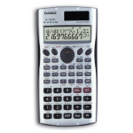 Casio FX-115MSPlus Pocket Scientific calculator Black,Silver
