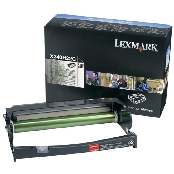 Lexmark X340H22G Drum kit, 30K pages @ 5% coverage