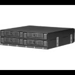 CRU DP41 Black disk array