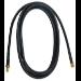 QVS SMAX-10 3m Black coaxial cable