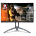 "AOC Gaming AG273QCX pantalla para PC 68,6 cm (27"") 2560 x 1440 Pixeles Wide Quad HD LED Negro, Rojo, Plata"