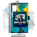 "HP EliteDisplay E243m 60.5 cm (23.8"") 1920 x 1080 pixels Full HD LED Black, Silver"