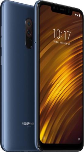 "Xiaomi Pocophone F1 15.7 cm (6.18"") 6 GB 64 GB Dual SIM Blue 4000 mAh"