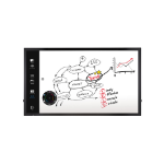 "LG 75TC3D-B interactive whiteboard 190.5 cm (75"") Touchscreen 3840 x 2160 pixels USB Black"