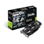 ASUS Dual GeForce GTX 1050 GeForce GTX 1050 2GB GDDR5