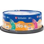Verbatim 97503 DVD Recordable Media 4.7GB DVD-R