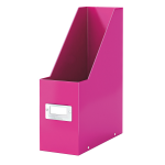 Leitz CLICK STORE MAGAZINE FILE PINK