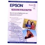 Epson A3+ Premium Glossy Photo Paper photo paperZZZZZ], S041316