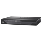 Cisco 892FSP router Gigabit Ethernet Negro