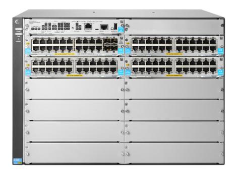 Hewlett Packard Enterprise 5412R 92GT PoE+ & 4-port SFP+ (No PSU) v3 zl2 Managed L3 Gigabit Ethernet (10/100/1000) Power over Ethernet (PoE) 7U Grey