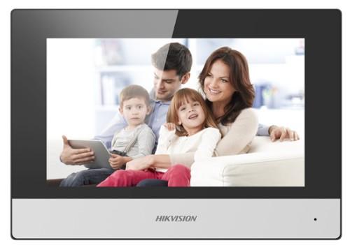 "Hikvision Digital Technology DS-KH6320-WTE1 video intercom system 17.8 cm (7"") Black,White"