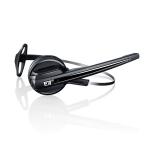 Sennheiser 506420 DECT Monaural Ear-hook,Head-band Black headset