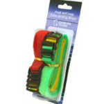 C2G Hook-and-Loop Multicolor 12pcs cable clamp