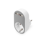 Digitus DA-70617 mobile device charger Indoor Grey, White