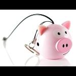 Kitsound Mini Buddy Pig Speaker