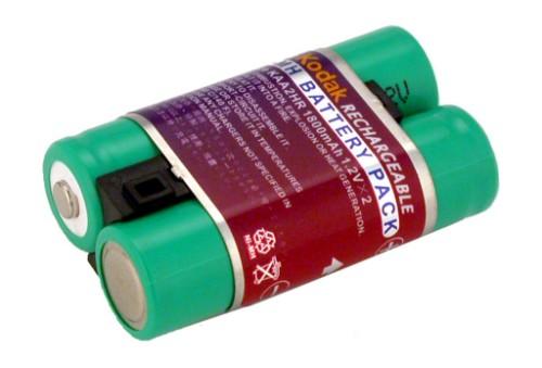 2-Power Digital Camera Battery 2.4v 1800mAh