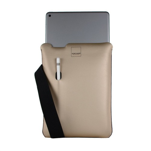 "Acme Made AM10631-SLV SKINNY SLEEVE GOLD FOR IPAD PRO 9.7IN 9.7"" Sleeve case Gold"