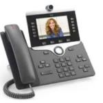 Cisco CP-8865NR-K9= IP phone Charcoal Wi-Fi