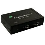 Digi AnywhereUSB/2 100 Mbit/s Black