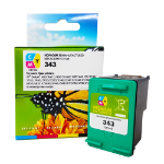 Remanufactured HP 343 Colour Ink Cartridge