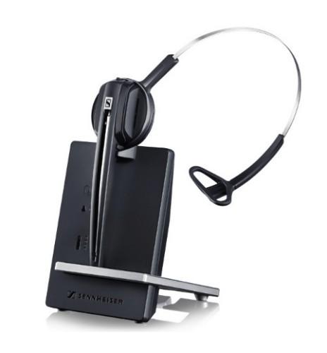 Sennheiser D10 USB ML Monaural Head-band Black,Silver headset