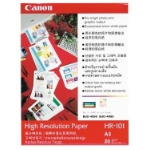 Canon HR-101N A3 High Resolution Paper inkjet paper