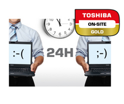 Toshiba 4YR GOLD ON-SITE-SERVICE IN