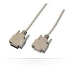 Microconnect DSUB15-DSUB15, 10m VGA cable VGA (D-Sub) Beige