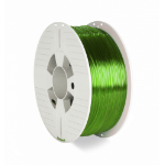 Verbatim 55057 3D printing material Polyethylene Terephthalate Glycol (PETG) Green,Transparent 1 kg